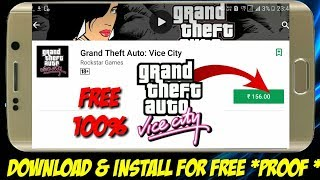How to download Gta vice city for 100000% free android