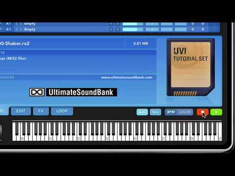Universal Sound bank Uvi Workstation overview