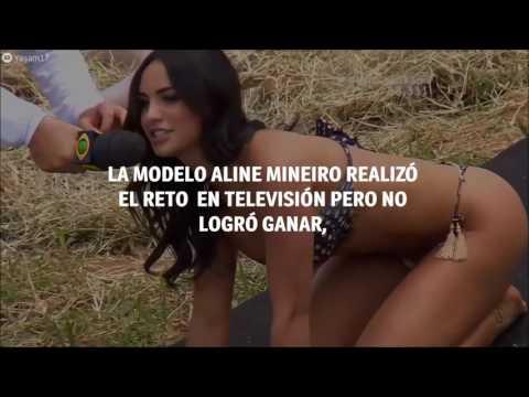Modelo brasileña fue víctima de su bikini durante un concurso.. thumbnail