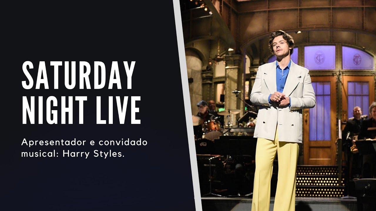 Harry Styles no Saturday Night Live - 27/11/19 [Legendado PT/BR]