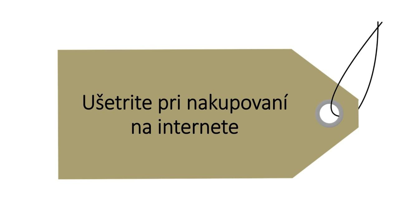 ce0c4d2ea5e56 Ušetrite pri nakupovaní na internete - Zľavové portály - YouTube