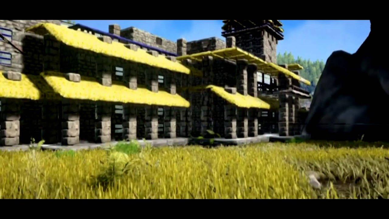 ark survival construyendo mi casa la mejor casa del