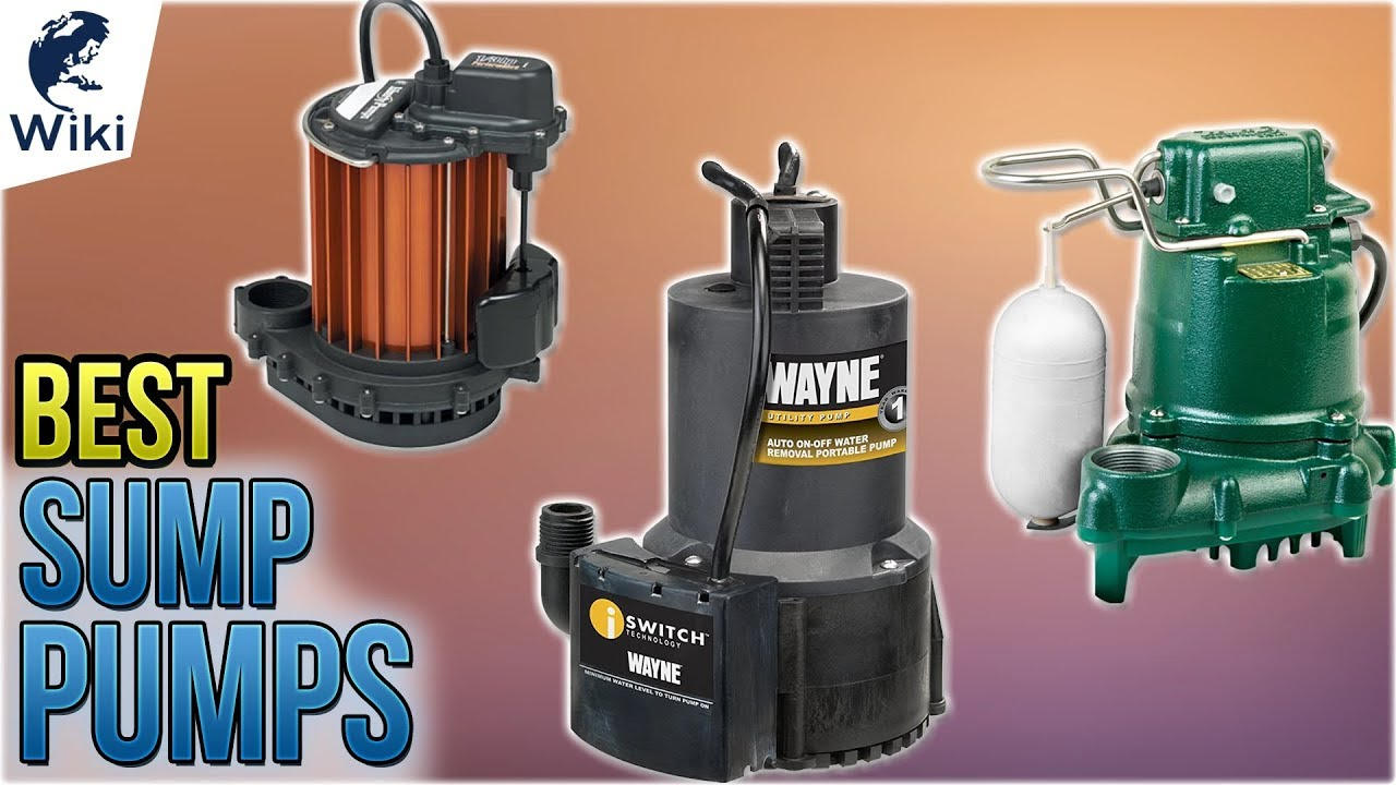 top 10 sump pumps of 2019 video reviewthe 10 best sump pumps