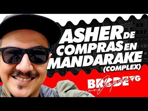 Asher de COMPRAS en Mandarake complex