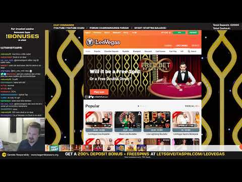 LIVE CASINO GAMES  - First !us Casino Up 👌 (05/07/19)