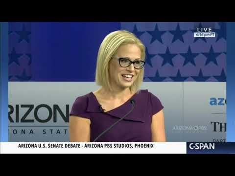 Kyrsten Sinema Can't Give Straight Answer On Kavanaugh