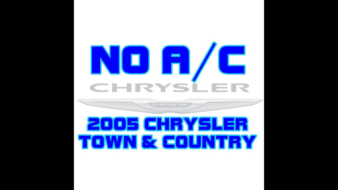 medium resolution of 2005 chrysler town country a c works on and off or sometimes
