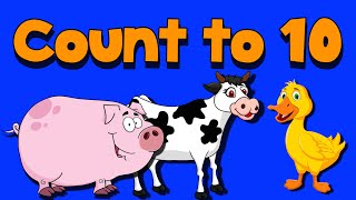 Count to Ten with Farm Animals