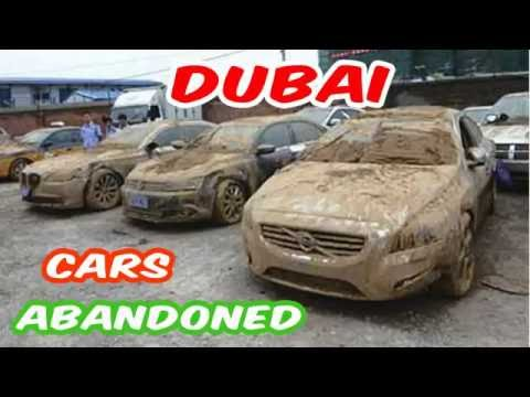 Latest Dubai's Abandoned Cars - Forgotten - Deserted - Expensive - Airport - Buy - Exotic - Auction