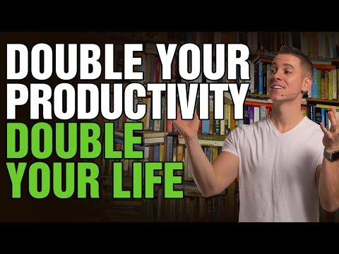 How to Be Productive | Stay Motivated and Organized | Double