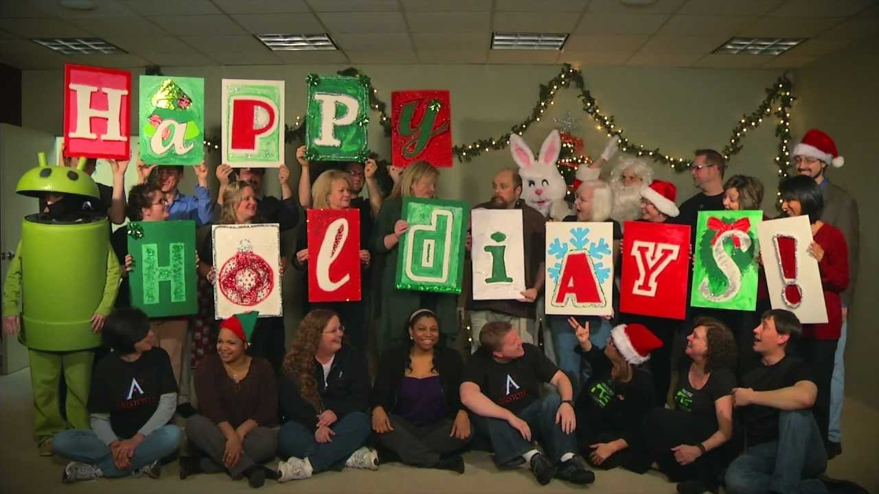Cubicle Decorating Kits >> 2011 Aristotle Interactive Christmas E-card - Creative Holiday Cards - Time Lapse - YouTube