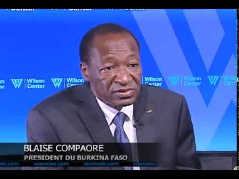 BLAISE COMPAORE - President of Burkina Faso (exclusive interview in French)