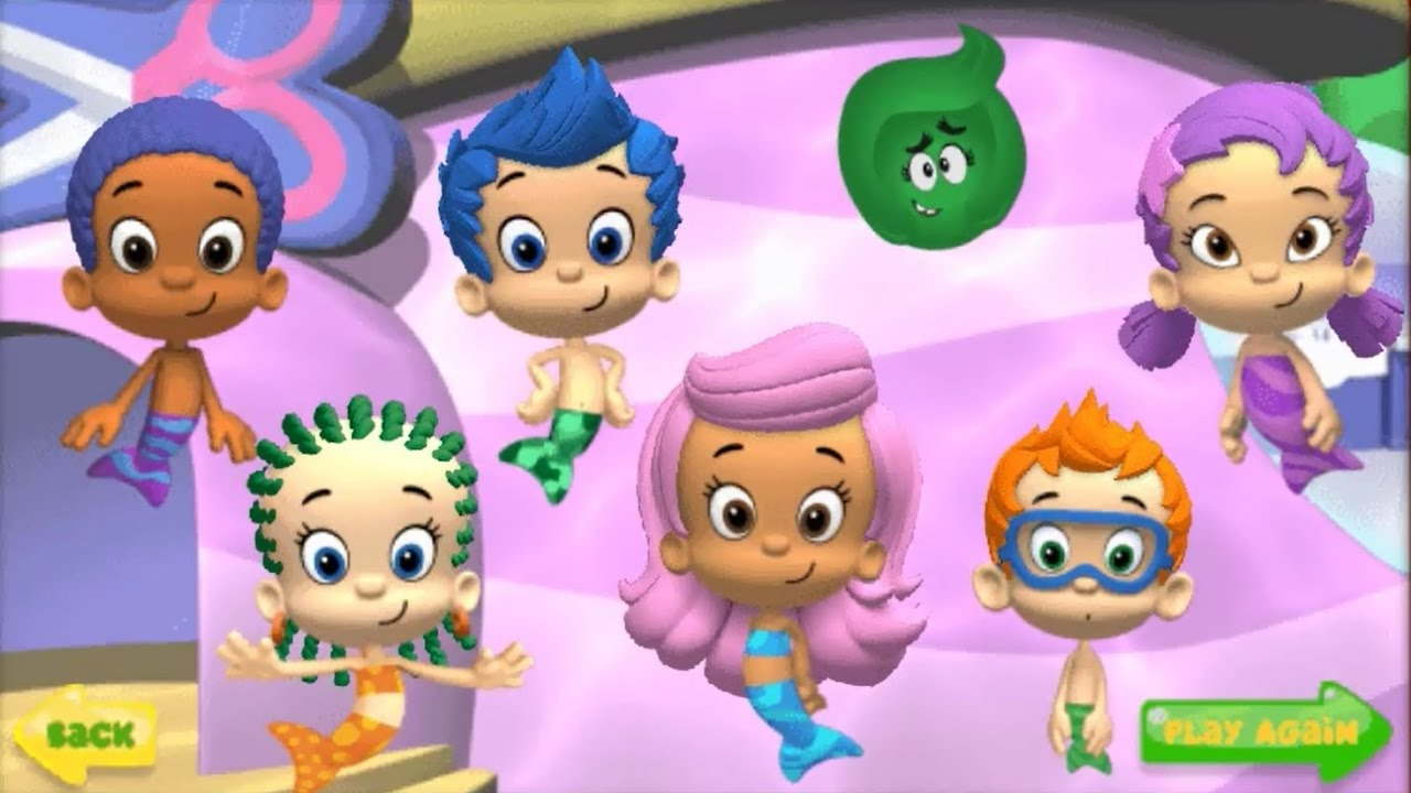 Bubble guppies games good hair day to play gamesworld for Nick s hair salon