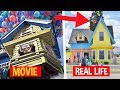 10 Cartoon Houses That Actually Exist IN REAL LIFE