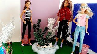 Diy Barbie Jardin - easy Barbie Garden outdoor magnifique réalisation de sortie entre famille- mode