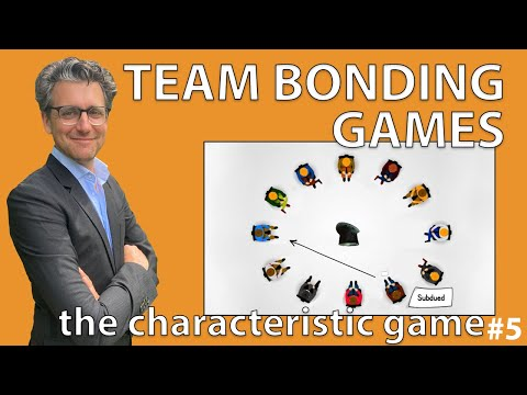 Team Bonding Games - The Characteristic Game #5