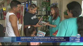 Hawaii Department of Health partners with Longs for emergency preparedness