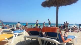Playa de Cala Mayor in Palma de Mallorca, Spain