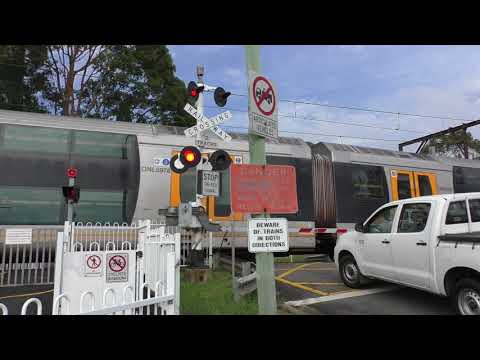 Level Crossing, Koolewong NSW, Australia.