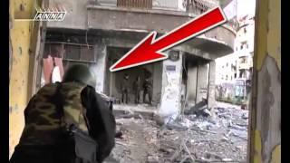 إضحك على المذيع الروسي في داريا وخوفه من الجيش الحر