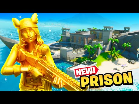 *NEW* PRISON ISLAND IS HERE In Fortnite!