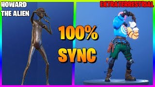 FORTNITE DANCES IN REAL LIFE THAT ARE 100% IN SYNC..! (Extraterrestre, Howard la danse extraterrestre)