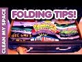 Folding Tips for Beautiful Drawers! (Clean My Space)