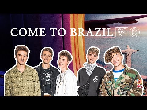 Why Don't We - Come To Brazil - Lyric Video | 6CAST Mp3