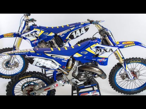 Yamaha YZ134 vs YZ144 2 stroke - Motocross Action Magazine