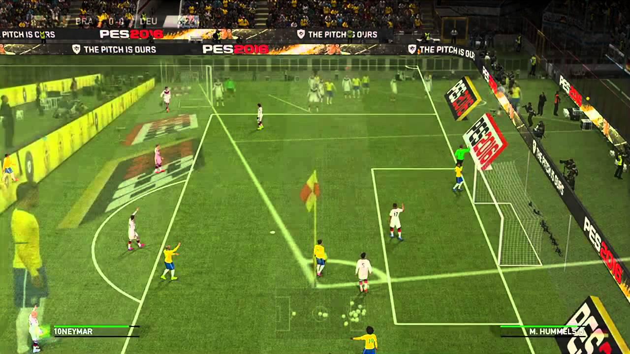 Pro Evolution Soccer 2016 - E3 2015 Gameplay Demo - YouTube