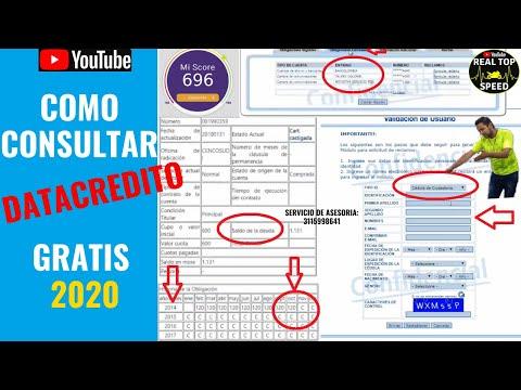 COMO CONSULTAR DATACREDITO GRATIS 2020 SABER SI ESTOY REPORTADO LAS DEUDAS TIENEN VENCIMIENTO