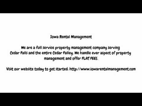 Cedar Falls Property Management Company-Iowa Rental Management