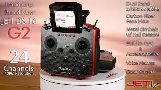 Jeti Duplex DS-16 G2 Carbon 2.4GHz/900MHz Radio System W/Telemetry