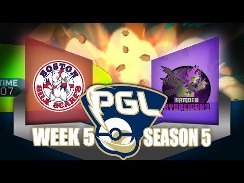 POST-COM FIX    PGL SEASON 5 WEEK 5    Boston Silk Scarfs vs Hamden Hydreigons!