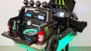 002 Birthday Present for my son, Ford Ranger custom made with Air Ride and Entertainment