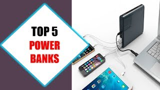 Top 5 Best Power Banks 2018 | Best Power Bank Review By Jumpy Express