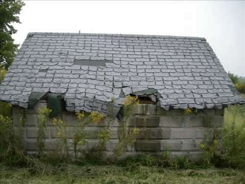 This Old House - Rosemary Clooney - A slideshow of delapidated houses and barns