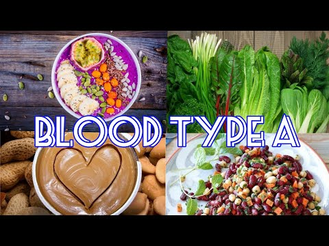 The Blood Type Diet - Blood Type A (Real Voice)