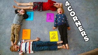 4 Corners with The Beach House! Favorite Childhood Games / Treasure Family