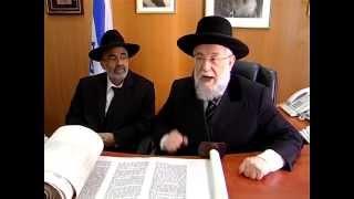 הרב ישראל מאיר לאו בשיחה מרתקת על התורה Rabbi Yisrael Meir Lau - תפארת רפאל