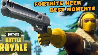 Fortnite Week Best Moments #2 Great Actions