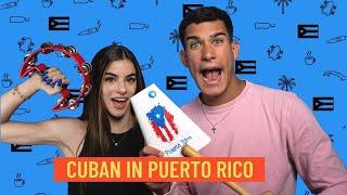 Cubana visita a PR por primera vez