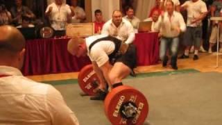 Andrei Belyaev - RAW Deadlift 380kg@92,5kg