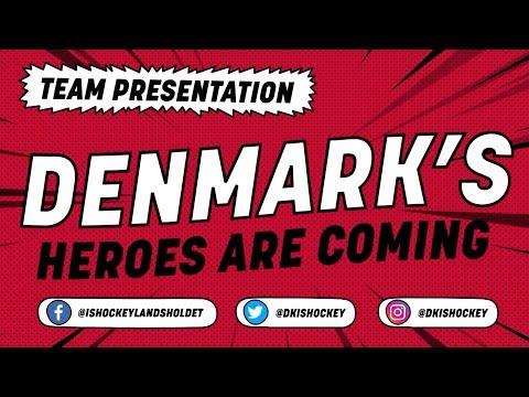 Denmark Team Presentation - #IIHFWorlds 2018 - 동영상