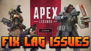 REDUCE LAG in APEX Legends | How to select custom Data Center Server to FIX LAG