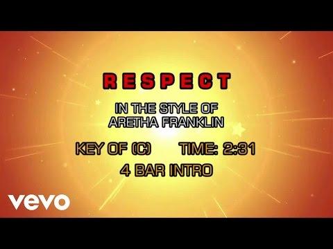 Aretha Franklin - Respect (Karaoke)