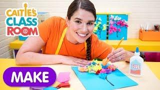 Caitie's Classroom | Tissue Paper Tree | Preschool Craft