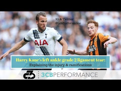 Harry Kane's left ankle grade 2 ligament tear: Explaining the injury & ramifications