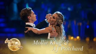 Mollie and AJ Waltzing 'Angel' by Sarah McLachlan - Strictly Come Dancing 2017