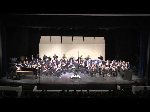 Austin Symphonic Band Performing Thunder and Blazes by Julius Fučík